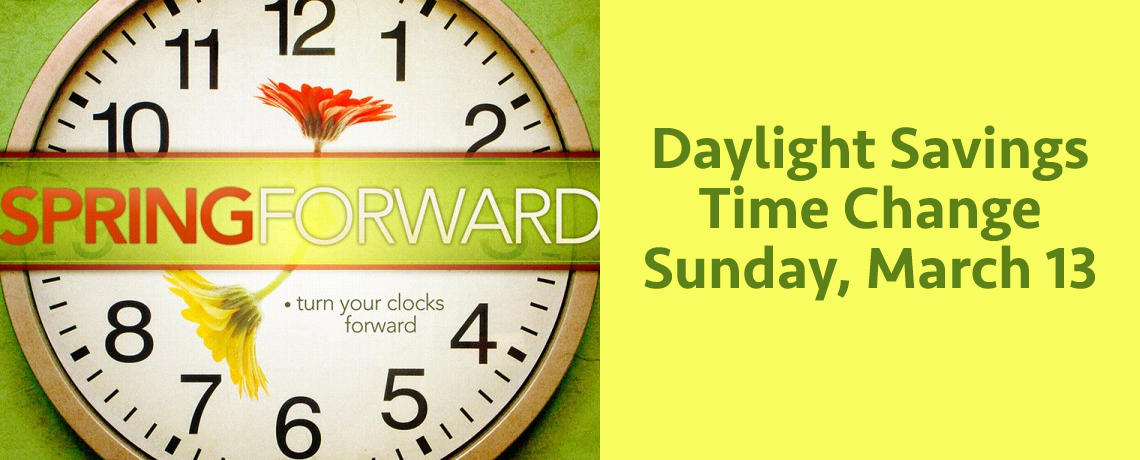 Time change medina first baptist church for When was daylight savings time started